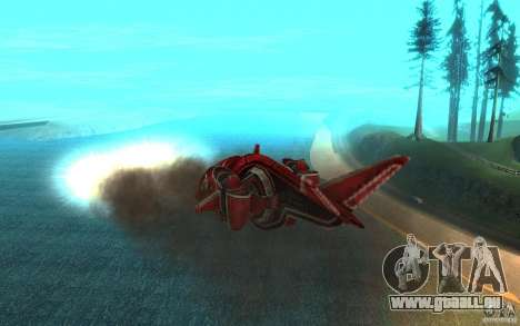 MOSKIT air Command and Conquer 3 pour GTA San Andreas vue intérieure