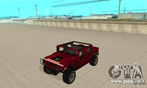 Hummer Civilian Vehicle 1986 pour GTA San Andreas