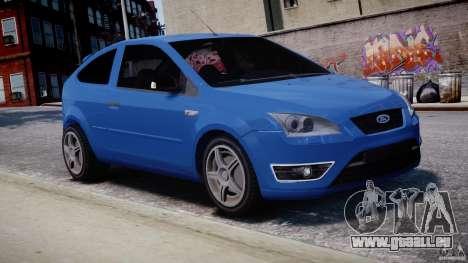 Ford Focus ST für GTA 4 Seitenansicht