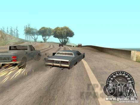 Tacho Audi für GTA San Andreas her Screenshot