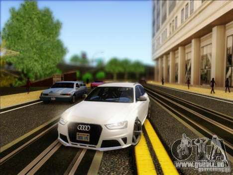 Audi RS4 Avant B8 2013 für GTA San Andreas