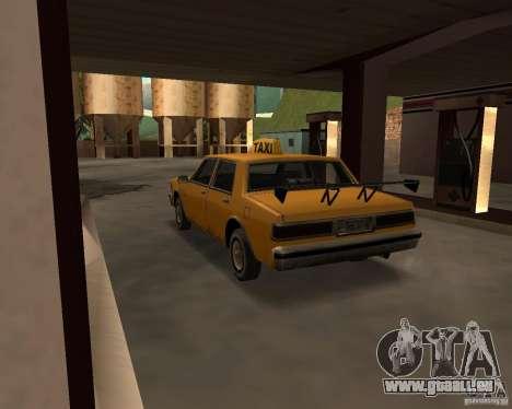 LV Taxi für GTA San Andreas rechten Ansicht