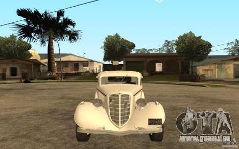GAZ M415 pour GTA San Andreas vue de droite