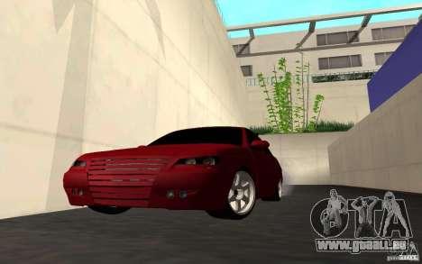 LADA PRIORA van tuning pour GTA San Andreas vue de dessous