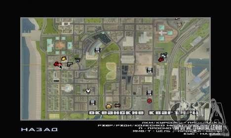 Fünf Sterne und Spare part Service für GTA San Andreas dritten Screenshot