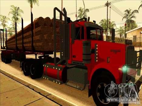 Western Star 4900 pour GTA San Andreas