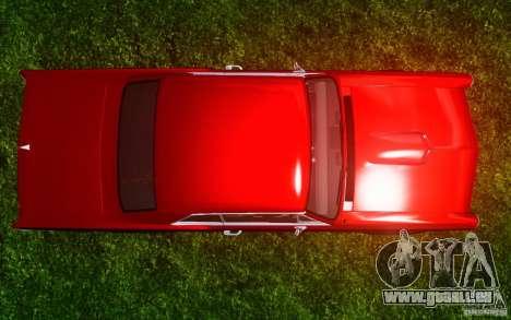 Pontiac GTO 1965 FINAL pour GTA 4 est une vue de dessous