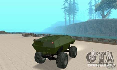 Trail Monster V.1.0 für GTA San Andreas linke Ansicht