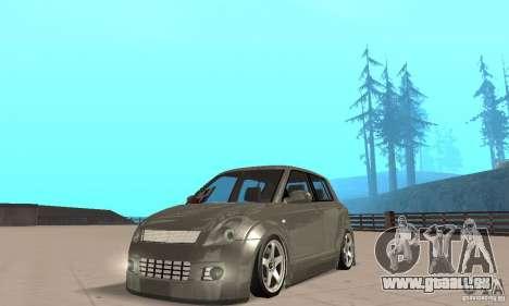 Suzuki Swift Tuning pour GTA San Andreas