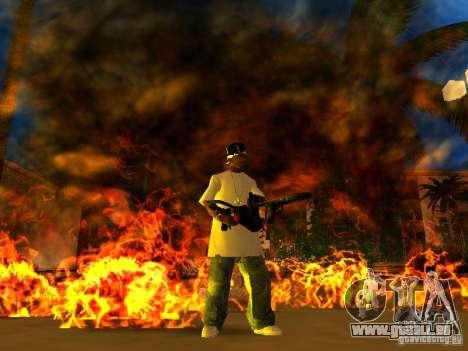 New Weapon Pack pour GTA San Andreas septième écran