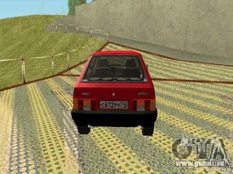 VAZ 2109 v2 pour GTA San Andreas vue de droite