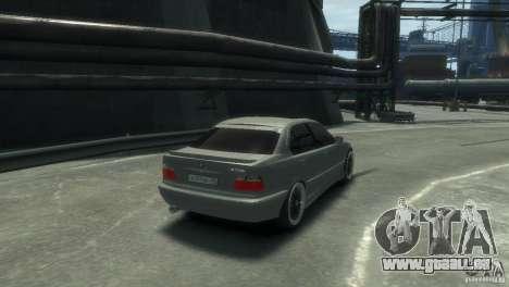 BMW 318i Light Tuning für GTA 4 rechte Ansicht