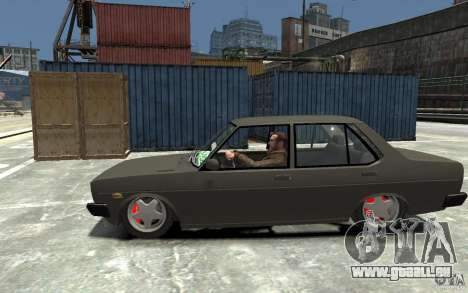 Tofas 131 Sahin pour GTA 4 est une gauche