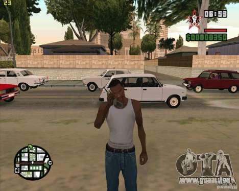 Appel Cargobob pour GTA San Andreas deuxième écran