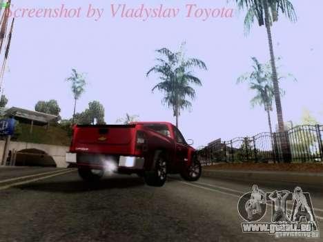 Chevrolet Cheyenne Single Cab für GTA San Andreas Seitenansicht