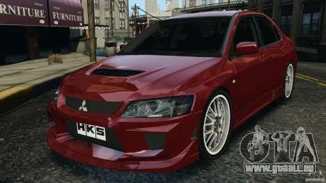 Mitsubishi Lancer Evolution 8 pour GTA 4