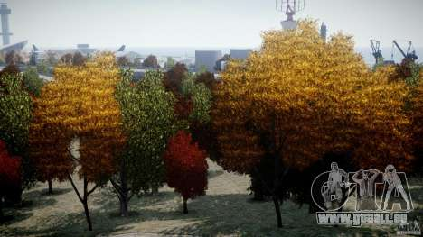 Realistic trees 1.2 pour GTA 4