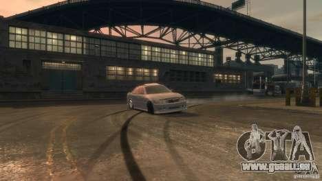 Toyota Chaser 2.5 Tourer V pour GTA 4 est une vue de l'intérieur