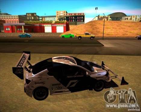 Scion tC für GTA San Andreas zurück linke Ansicht