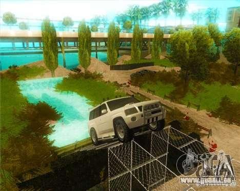 Off-Road Track pour GTA San Andreas deuxième écran