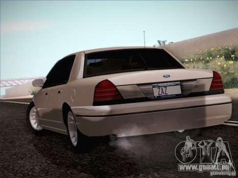 Ford Crown Victoria Interceptor für GTA San Andreas rechten Ansicht