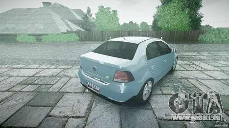 Volkswagen Voyage Comfortline für GTA 4 obere Ansicht