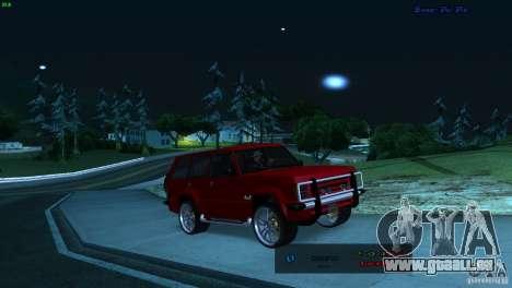 FBI Huntley 4x4 pour GTA San Andreas