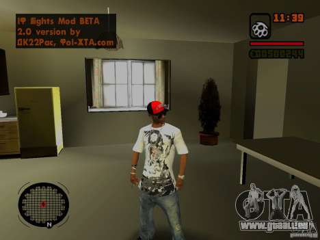 GTA IV Animation in San Andreas für GTA San Andreas her Screenshot