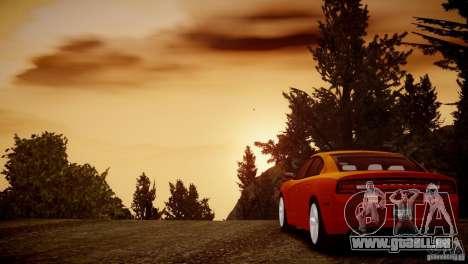 Dodge Charger R/T 2011 Max pour GTA 4 est une vue de l'intérieur