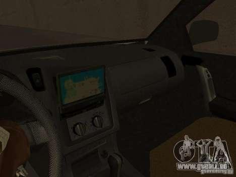 Opel Combo 2005 pour GTA San Andreas vue arrière