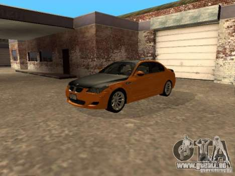 BMW M5 E60 2009 v2 für GTA San Andreas rechten Ansicht
