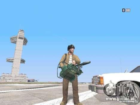 HQ Weapons pack V2.0 für GTA San Andreas sechsten Screenshot