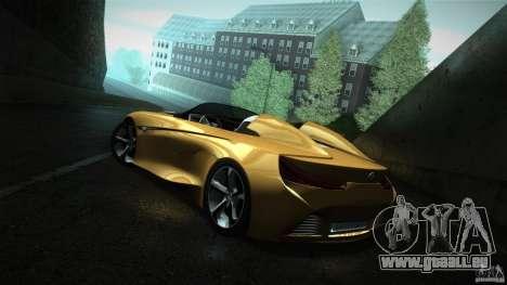 BMW Vision Connected Drive Concept für GTA San Andreas zurück linke Ansicht