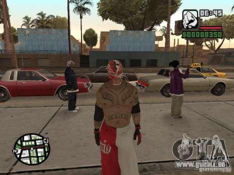 Rey Mysterio pour GTA San Andreas deuxième écran
