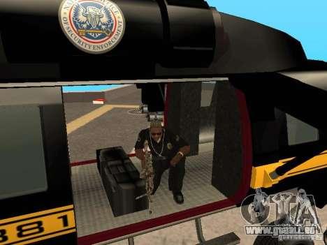 GTA 4 Annihilator entrable pour GTA San Andreas vue de droite