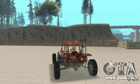 Half-Life Buggy pour GTA San Andreas laissé vue