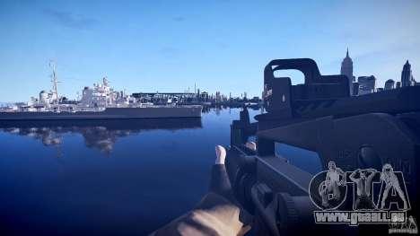 Neue M4 für GTA 4 dritte Screenshot