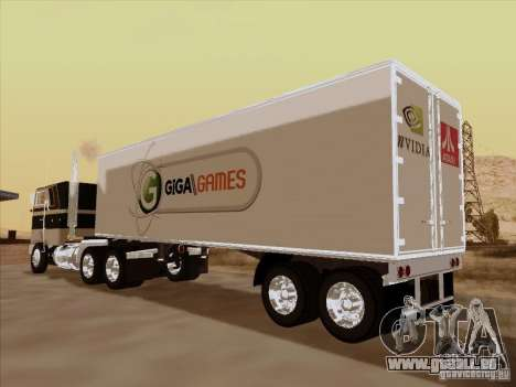 Caband trailer pour GTA San Andreas