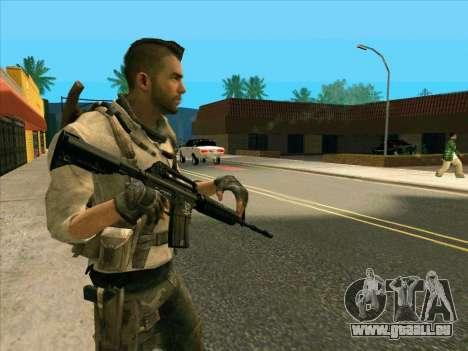 4 Un Mctavish pour GTA San Andreas deuxième écran