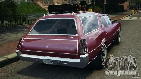 Oldsmobile Vista Cruiser 1972 v1.0 pour GTA 4 Vue arrière de la gauche