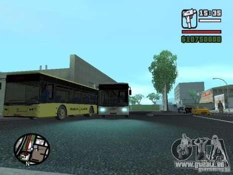 LAZ InterLAZ 12 pour GTA San Andreas vue arrière