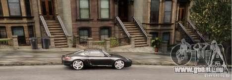 Porsche Cayman pour GTA 4 Vue arrière de la gauche