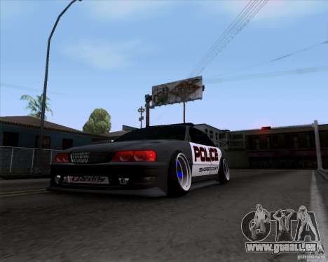 Toyota Chaser jzx100 Drift Police für GTA San Andreas