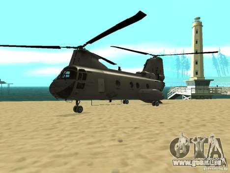 Hélicoptère Leviathan pour GTA San Andreas