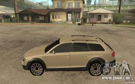 Audi Allroad Quattro pour GTA San Andreas laissé vue