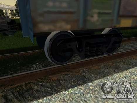 Wagon couvert pour GTA San Andreas vue de droite