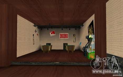 Un nouveau bar dans Gantone c. 2 pour GTA San Andreas troisième écran