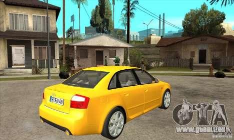 Audi S4 2004 pour GTA San Andreas vue de droite
