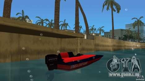 San Andreas Coast Guard pour GTA Vice City sur la vue arrière gauche