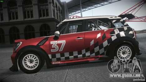 Mini Countryman WRC für GTA San Andreas linke Ansicht